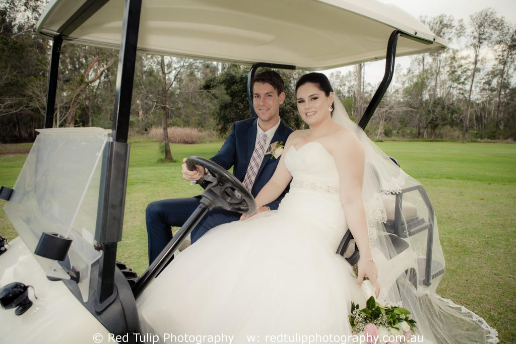 Tweed Heads the Abbey Cobaki golf club wedding