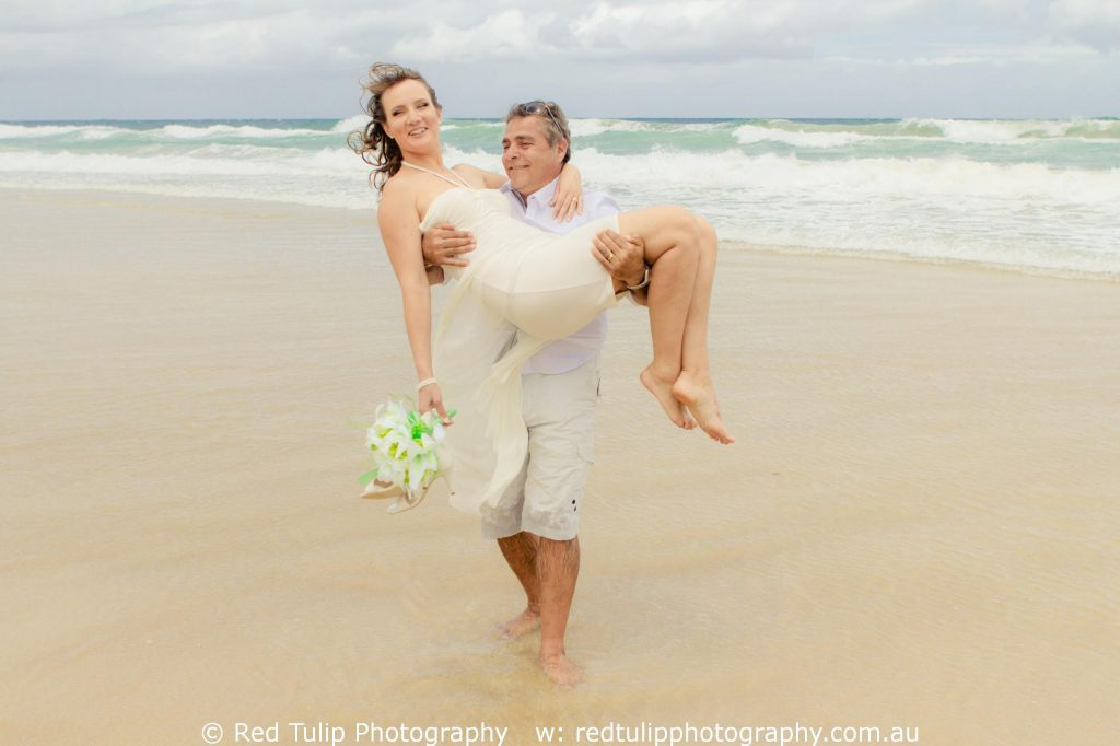 Gold Coast Broadbeach couple portrait