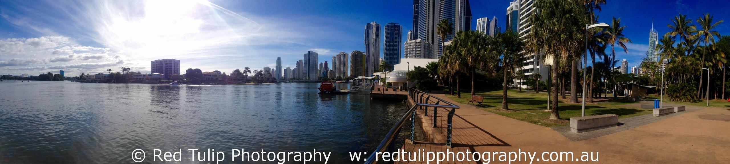 Surfers Paradise panorama Gold Coast photographer