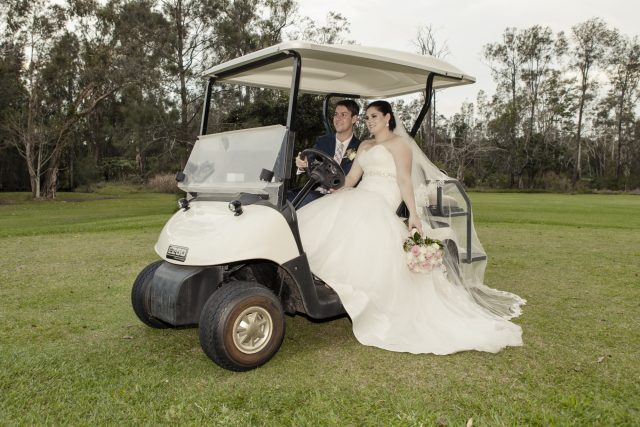 Wedding at the Abbey Golf Club in Cobaki Lakes